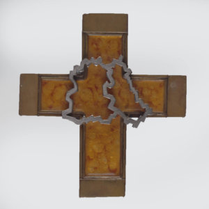Das Brustkreuz (Pektorale) des Weihbischofs em. Wolfgang Weider, er trug es bis 1989. Es zeigt die geteilte Stadt Berlin und wurde ihm von Cardinal Meisner geschenkt. Das Brustkreuz kann in der Schatzkammer der St. Hedwigskathedrale in Berlin angesehen werden.